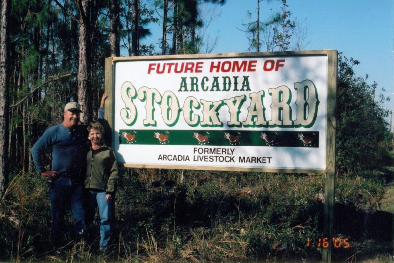 Future Home of the Arcadia Stockyard